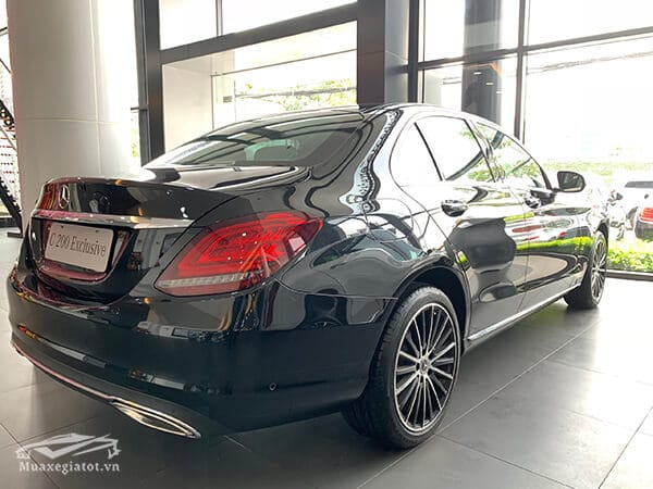 den hau xe mercedes c200 exclusive 2019 muaxegiatot vn 9 Đánh giá xe Mercedes C200 Exclusive 2021 kèm giá bán khuyến mãi #1