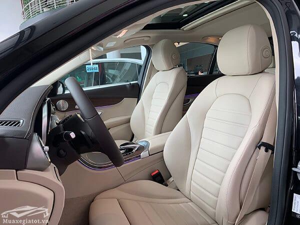 ghe xe mercedes c200 exclusive 2019 muaxegiatot vn 14 Đánh giá xe Mercedes C200 Exclusive 2021 kèm giá bán khuyến mãi #1
