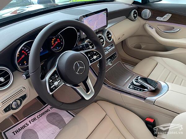 vo lang xe mercedes c200 exclusive 2019 muaxegiatot vn 17 Đánh giá xe Mercedes C200 Exclusive 2021 kèm giá bán khuyến mãi #1