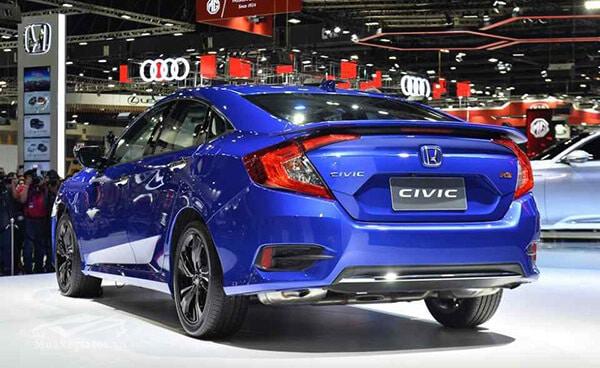 gam xe honda civic 2019 facelift muaxegiatot vn Đánh giá xe Honda Civic 2021 kèm giá bán khuyến mãi!