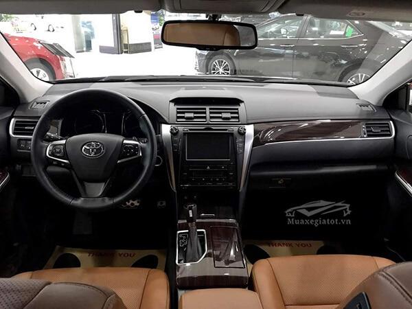 noi that xe toyota camry 2019 25q reviewnhanh vn 5 Đánh giá xe Toyota Camry 2019 lắp ráp Việt Nam