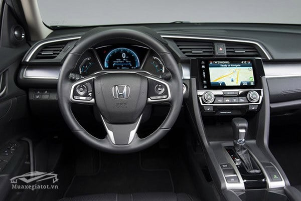 tien nghi honda civic 2019 facelift muaxegiatot vn Đánh giá xe Honda Civic 2021 kèm giá bán khuyến mãi!