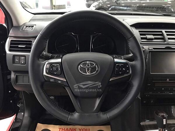vo lang toyota camry 2019 25q reviewnhanh vn 6 Đánh giá xe Toyota Camry 2019 lắp ráp Việt Nam