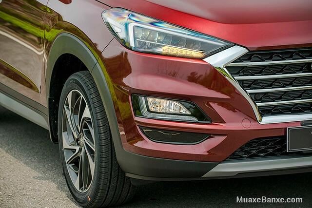 cum den truoc xe hyundai tucson 2019 2020 16l t gdi dac biet muaxebanxe com Chi tiết xe Hyundai Tucson 1.6L Turbo máy xăng đặc biệt 2021