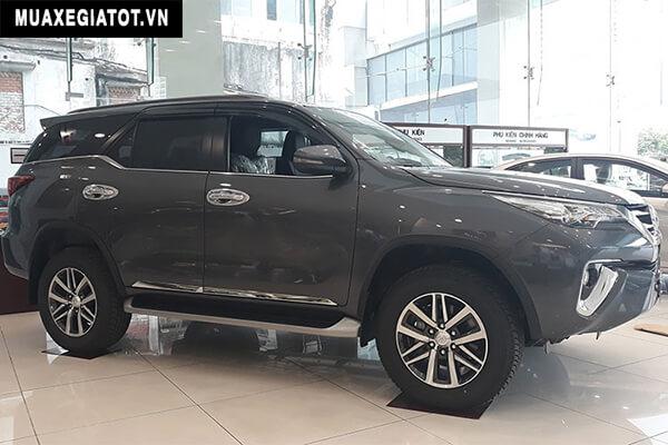 hong xe toyota fortuner 2018 may dau toyota tan cang net Giá xe lăn bánh của Toyota Fortuner 2021 tại thị trường Việt Nam