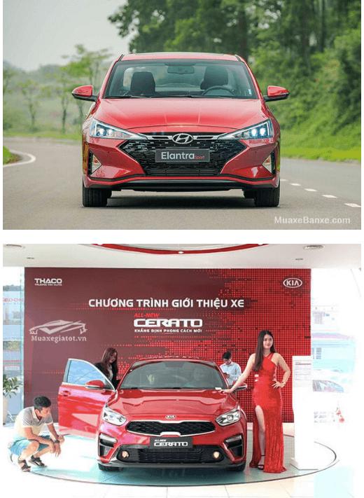 so sanh elantra va kia cerato 2020 truecar vn 2 So sánh Hyundai Elantra và Kia Cerato tại Việt Nam