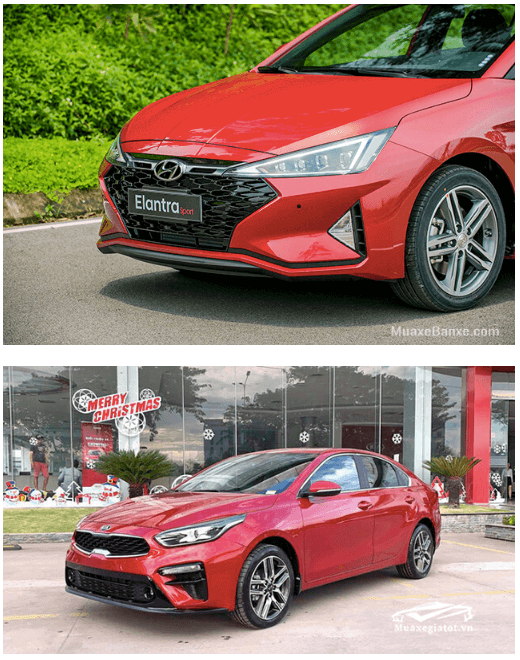 so sanh elantra va kia cerato 2020 truecar vn 3 So sánh Hyundai Elantra và Kia Cerato tại Việt Nam