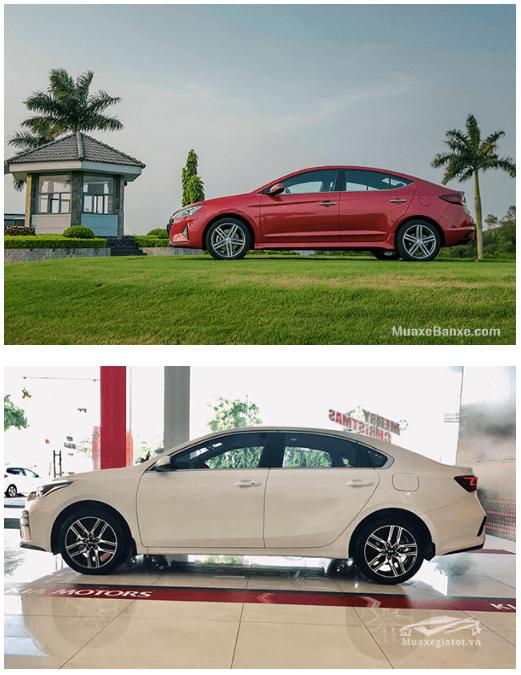 so sanh elantra va kia cerato 2020 truecar vn 4 So sánh Hyundai Elantra và Kia Cerato tại Việt Nam