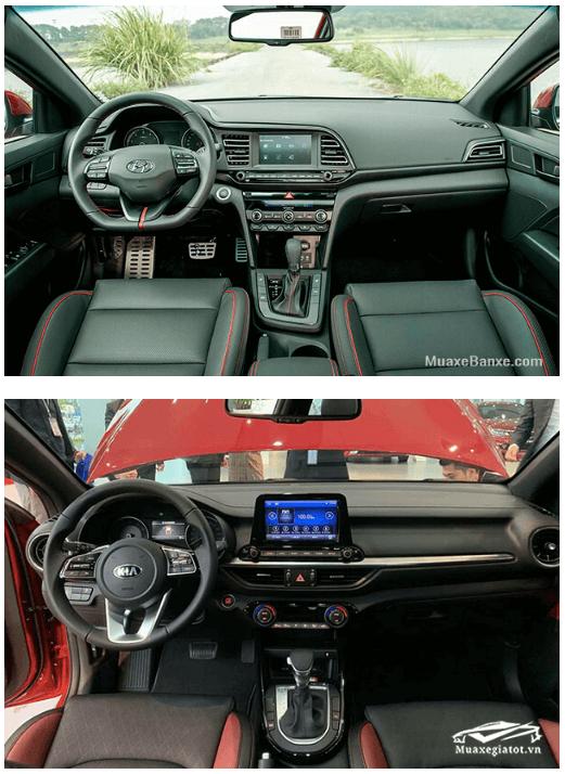 so sanh elantra va kia cerato 2020 truecar vn 6 So sánh Hyundai Elantra và Kia Cerato tại Việt Nam