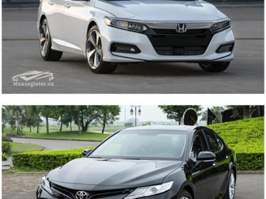 So sánh Camry 2.5Q và Accord 2.4AT nhập khẩu Thái lan