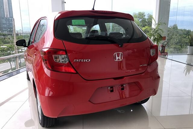 duoi xe honda brio g 2019 2020 truecar vn Chi tiết xe Honda Brio G 2021 kèm giá bán!