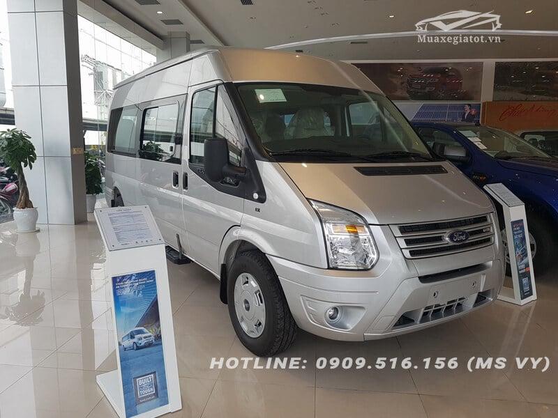 ford transit 16 cho muaxegiatot vn 4 Nên mua xe Ford Tourneo hay Ford Transit chạy dịch vụ?