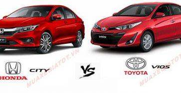 So sánh Toyota Vios và Honda City – Cuộc chiến chưa kết thúc