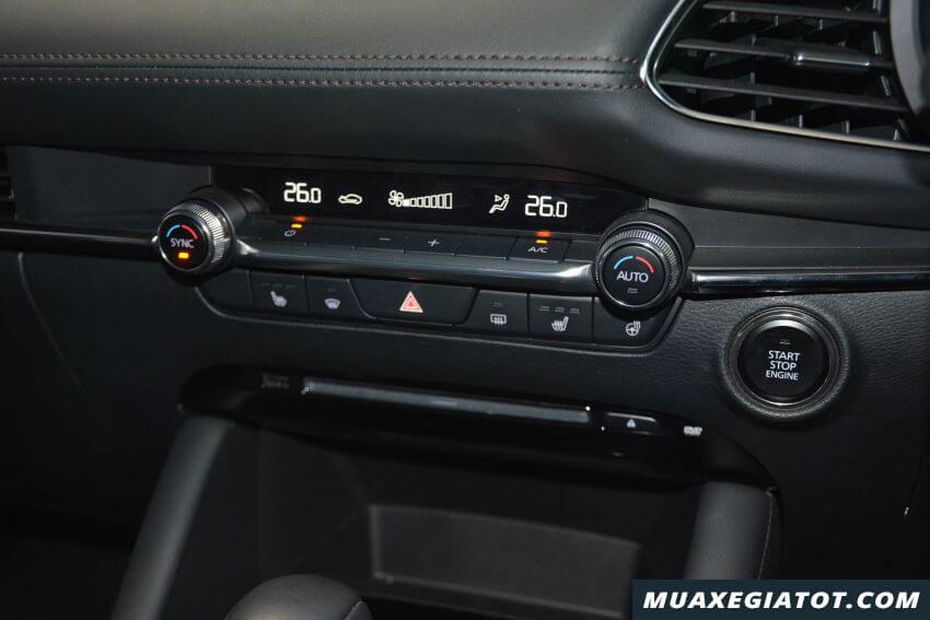 dieu hoa xe mazda 3 2020 ra mat malaysia Xetot com 11 Đánh giá xe Mazda 3 2021 kèm giá bán khuyến mãi #1