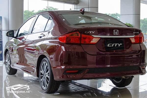 """duoi xe honda city 2020 Xetot com 13 Honda City 2021 có gì để """"soán ngôi"""" Vios và Accent?"""