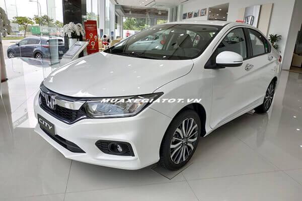 """xe honda city 2019 mau trang muaxegiatot vn Honda City 2021 có gì để """"soán ngôi"""" Vios và Accent?"""