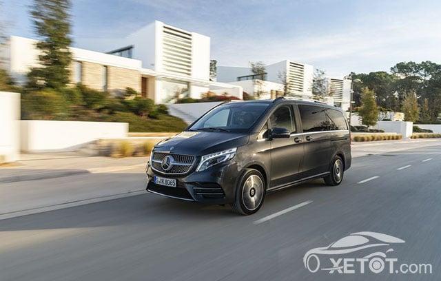 dau xe mercedes benz v250 amg 2020 muaxegiatot vn Đánh giá xe Mercedes V-Class 2021 kèm giá bán #1