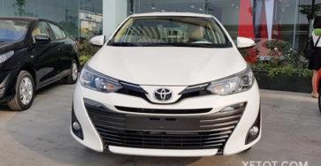Toyota Vios 2021 số sàn cuốn hút khách hàng trên từng góc cạnh
