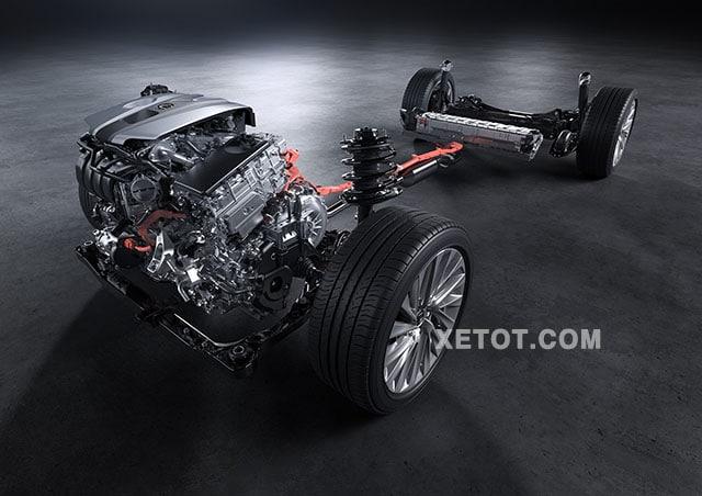 dong co hybrid xe lexus es300h 2020 muaxegiatot vn Đánh giá xe Lexus ES300h 2021 kèm giá bán #1