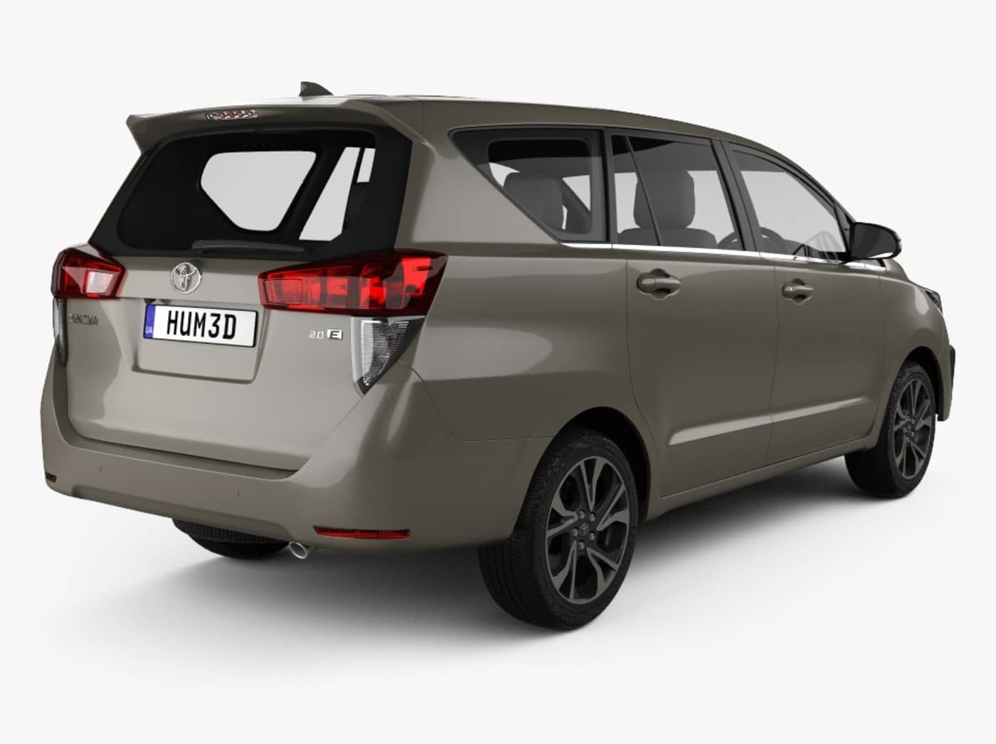duoi xe toyota innova facelift front 2021 muaxegiatot vn Đánh giá xe Toyota Innova 2021 kèm giá bán #1