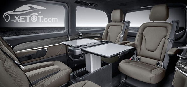 ghe thu hai mercedes benz v class 2020 muaxegiatot vn Đánh giá xe Mercedes V-Class 2021 kèm giá bán #1