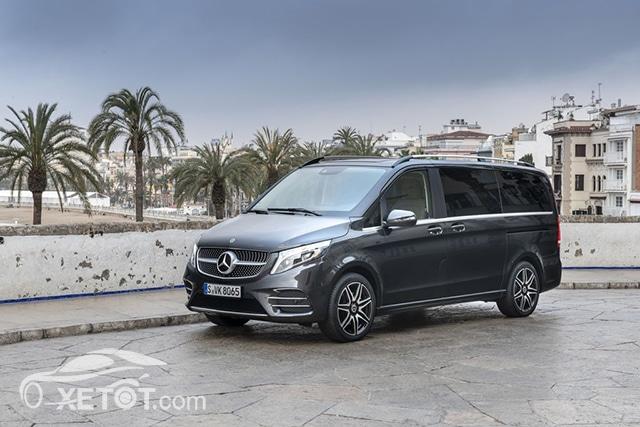 gia xe mercedes benz v250 amg 2020 muaxegiatot vn Đánh giá xe Mercedes V-Class 2021 kèm giá bán #1
