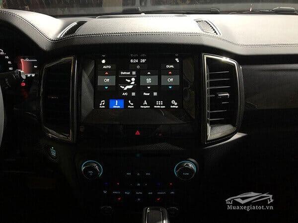 he thong giai tri tren ford everest 4wd 2020 truecar vn Đánh giá Ford Everest 2021, SUV đầy ắp công nghệ & off-road đỉnh cao