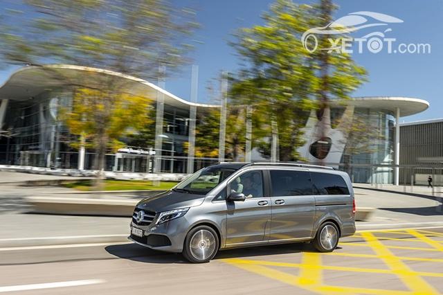 than xe mercedes benz v class 2020 muaxegiatot vn Đánh giá xe Mercedes V-Class 2021 kèm giá bán #1