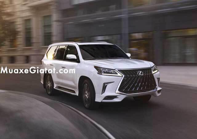 """dau xe lexus lx570 2020 muaxegiatot com Đánh giá """"chuyên cơ mặt đất"""" Lexus LX570 2021"""