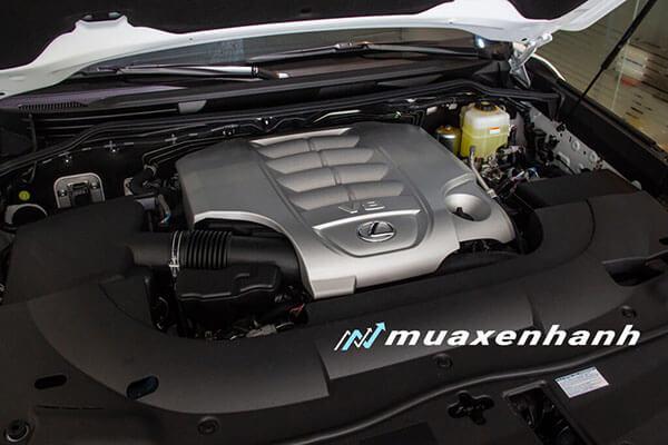 """dong co xe lexus lx570 super sport 2020 muaxegiatot vn 11 Đánh giá """"chuyên cơ mặt đất"""" Lexus LX570 2021"""
