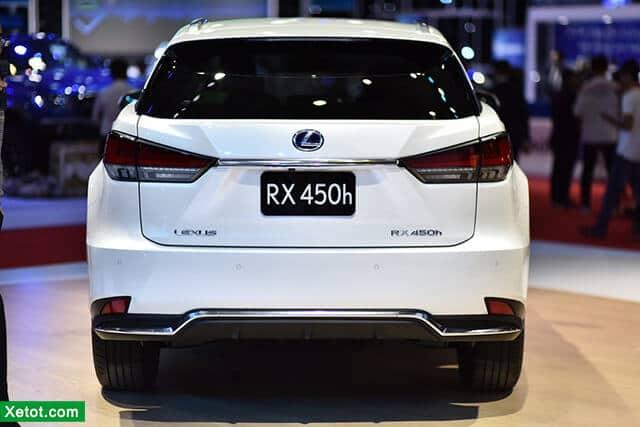 duoi xe lexus rx 450h 2020 muaxegiatot vn Đánh giá xe Lexus RX 450h 2021 kèm giá bán khuyến mãi #1