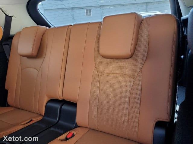 ghe hang ghe 3 lexus rx350l 2020 7 cho xetot com Đánh giá Lexus RX 350L 2021 7 chỗ, Cỗ xe vương giả