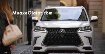 """Đánh giá """"chuyên cơ mặt đất"""" Lexus LX570 2021"""