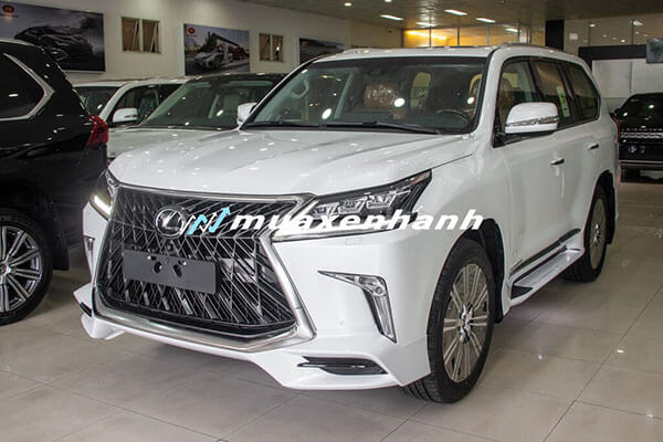 """gia xe lexus lx570 super sport 2020 muaxegiatot vn 2 Đánh giá """"chuyên cơ mặt đất"""" Lexus LX570 2021"""