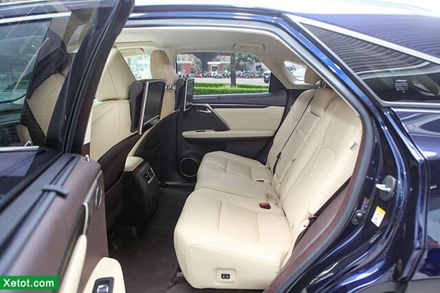 hang ghe sau xe lexus rx 450h 2020 muaxegiatot vn Đánh giá xe Lexus RX 450h 2021 kèm giá bán khuyến mãi #1