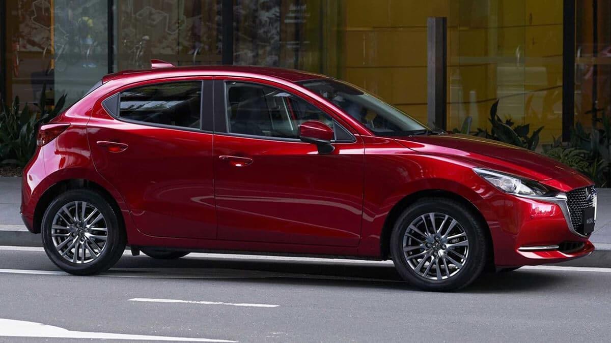 hong xe mazda 2 2020 facelift muaxegiatot com Chi tiết xe Mazda 2 2021 Facelift, nhiều thay đổi đáng ghi nhận
