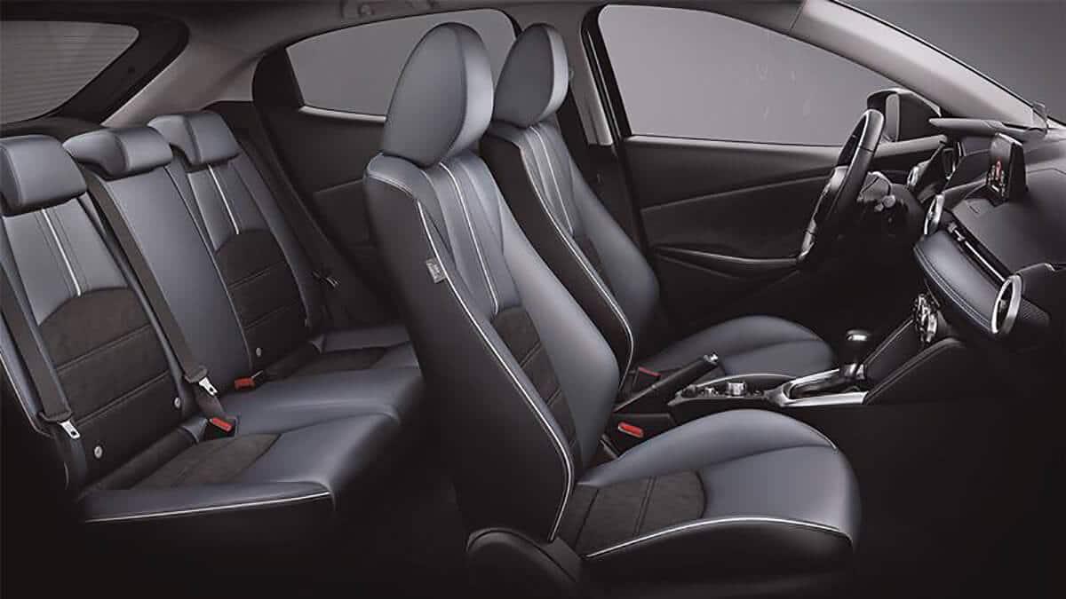 khong gian noi that mazda 2 2020 facelift muaxegiatot com Chi tiết xe Mazda 2 2021 Facelift, nhiều thay đổi đáng ghi nhận