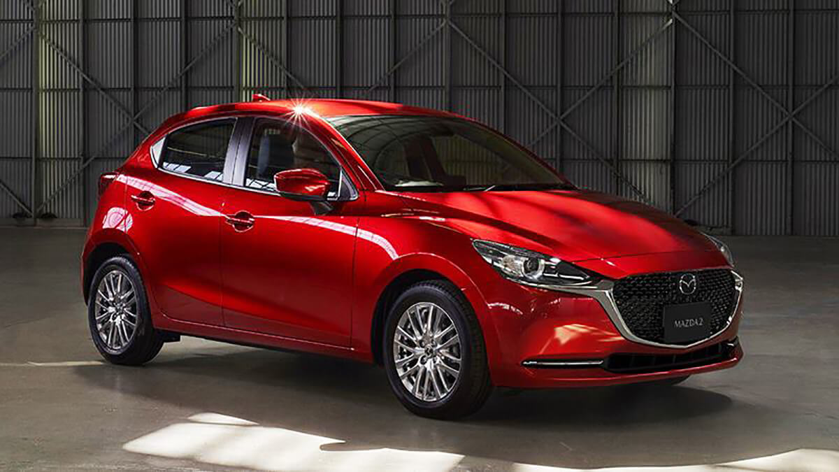ra mat mazda 2 2020 facelift muaxegiatot com Chi tiết xe Mazda 2 2021 Facelift, nhiều thay đổi đáng ghi nhận