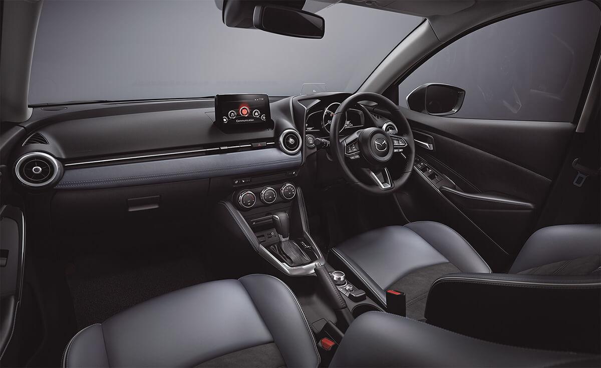 tien nghi noi that xe mazda 2 2020 facelift muaxegiatot com Chi tiết xe Mazda 2 2021 Facelift, nhiều thay đổi đáng ghi nhận