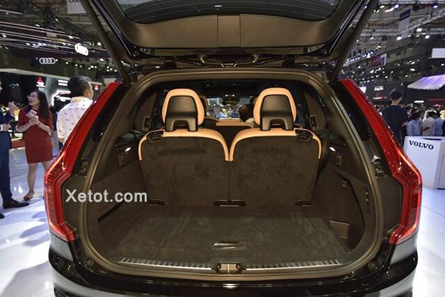 cop xe volvo xc90 2020 facelift xetot com Đánh giá xe Volvo XC90 2021: Đơn giản, tinh tế và sang trọng