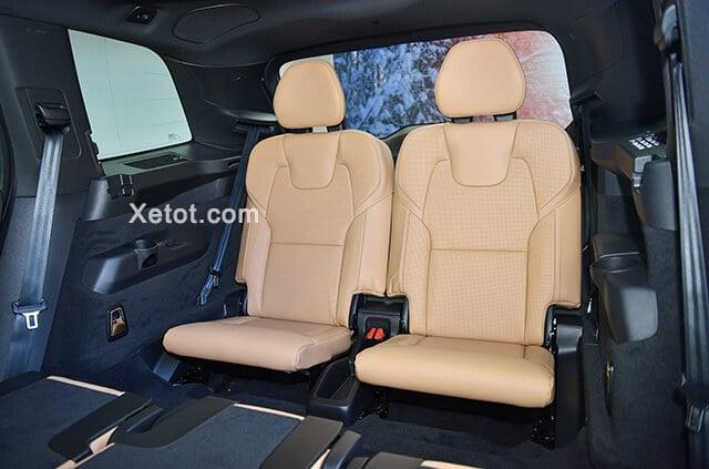hang ghe thu ba volvo xc90 2020 facelift xetot com Đánh giá xe Volvo XC90 2021: Đơn giản, tinh tế và sang trọng