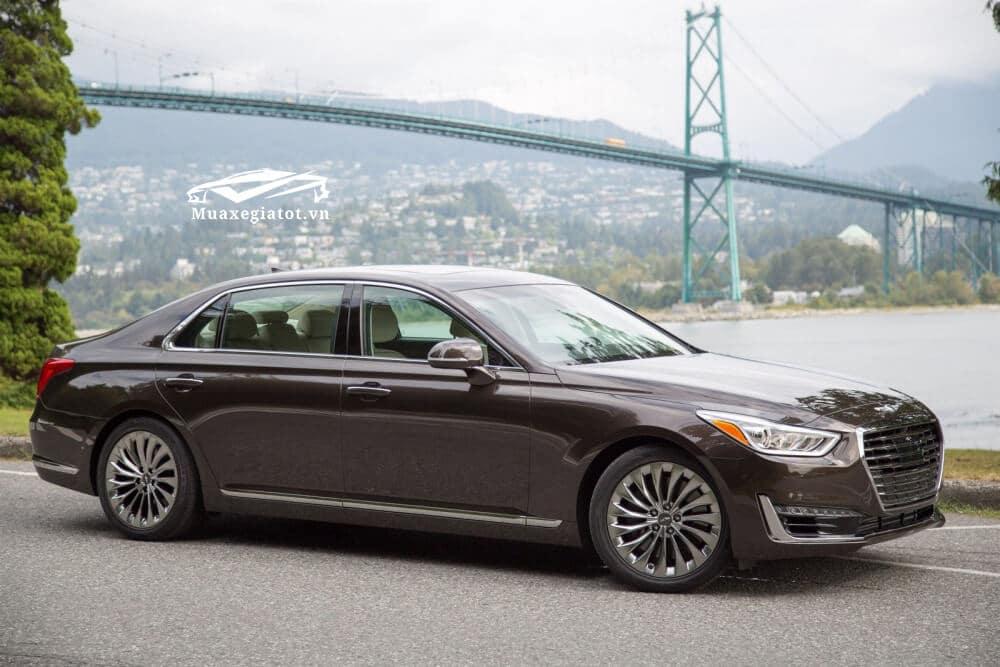 danh gia xe genesis g90 2020 2021 xetot com 17 Đánh giá xe Genesis G90 2021, Xế sang của Hyundai