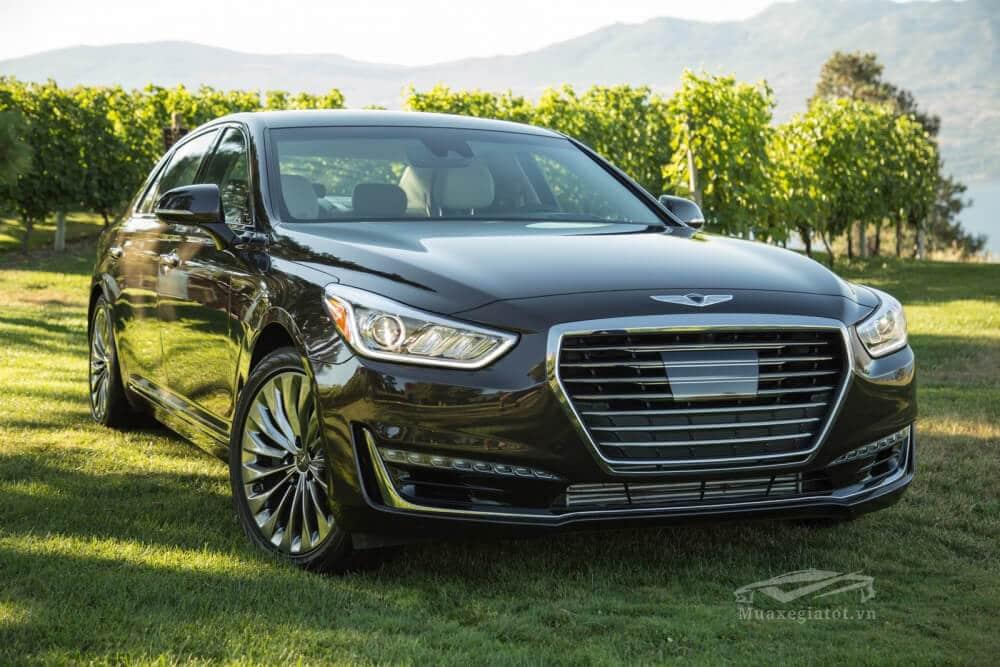danh gia xe genesis g90 2020 2021 xetot com 20 Đánh giá xe Genesis G90 2021, Xế sang của Hyundai