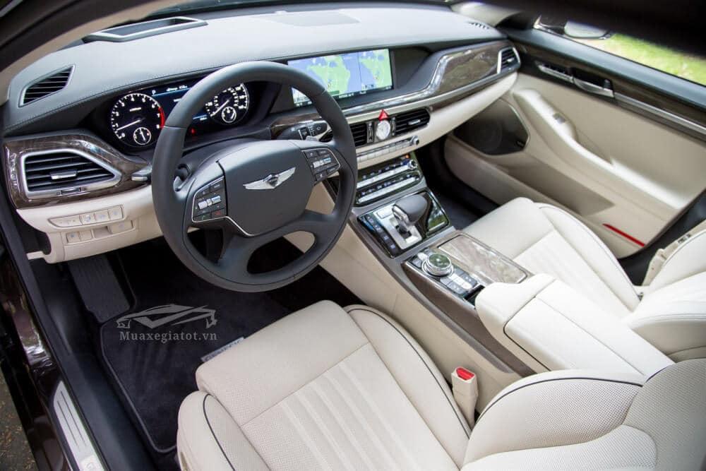 danh gia xe genesis g90 2020 2021 xetot com 24 Đánh giá xe Genesis G90 2021, Xế sang của Hyundai