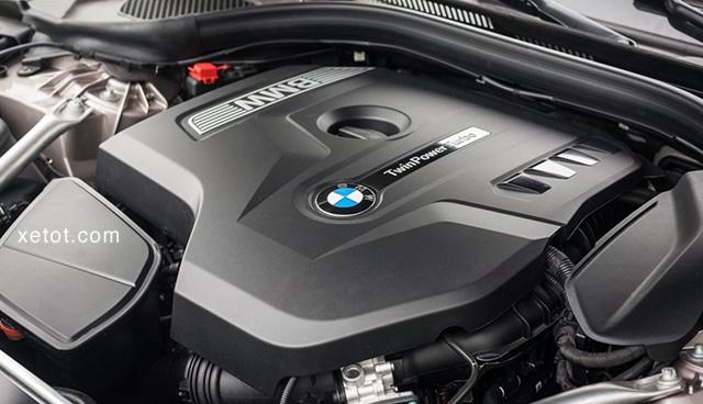 """dong co xe bmw 520i 2020 muaxegiatot vn Đánh giá xe BMW 520i 2021, """"Tuyệt tác thiết kế"""""""