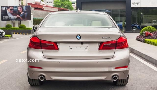 """duoi xe bmw 520i 2020 muaxegiatot vn Đánh giá xe BMW 520i 2021, """"Tuyệt tác thiết kế"""""""