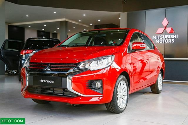 gia xe mitsubishi attrage cvt 2020 so tu dong muaxegiatot vn 1 Nên mua xe Hyundai Grand i10 Sedan 2021 hay Mitsubishi Attrage 2021