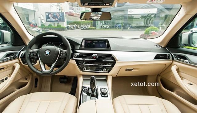 """noi that xe bmw 520i 2020 muaxegiatot vn Đánh giá xe BMW 520i 2021, """"Tuyệt tác thiết kế"""""""