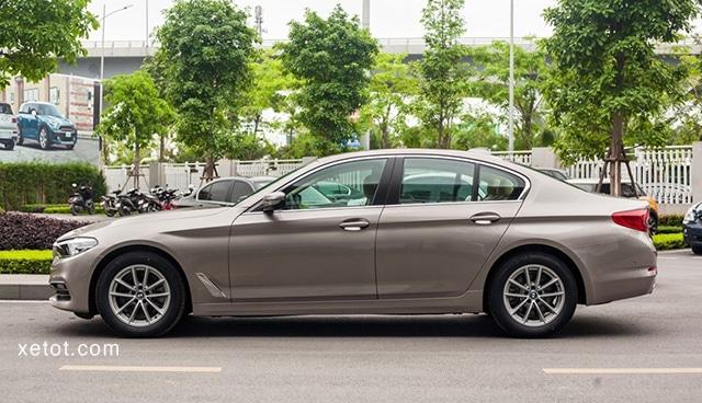 """than xe bmw 520i 2020 muaxegiatot vn Đánh giá xe BMW 520i 2021, """"Tuyệt tác thiết kế"""""""