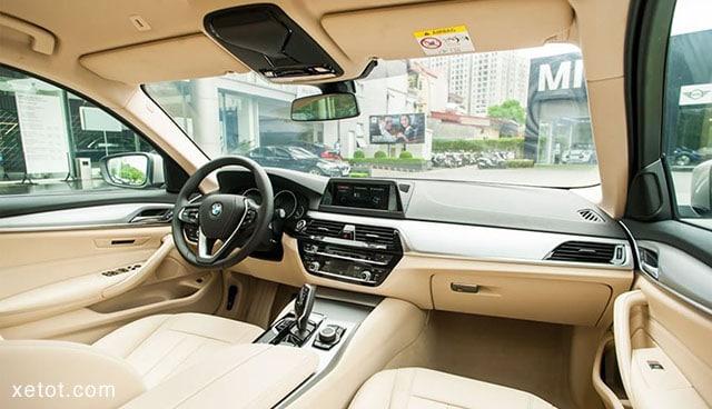 """tien nghi xe bmw 520i 2020 muaxegiatot vn Đánh giá xe BMW 520i 2021, """"Tuyệt tác thiết kế"""""""